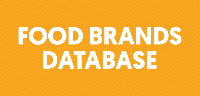 Food Brands Database